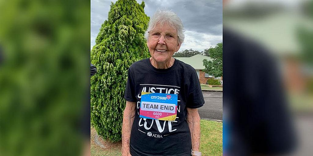 99-летняя адвентист собирает средства для ADRA