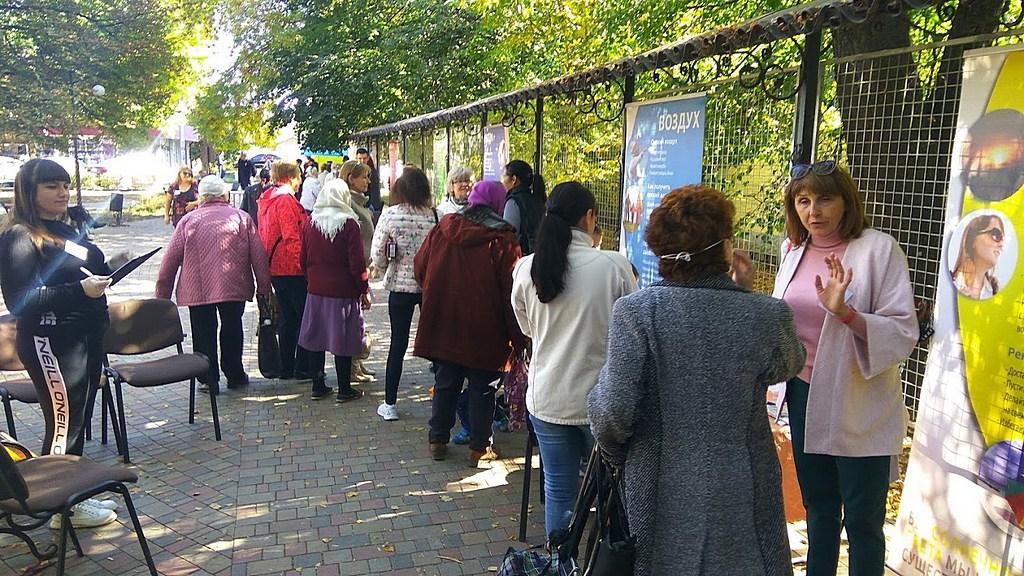 В центре Чугуева прошла «Выставка Здоровья»