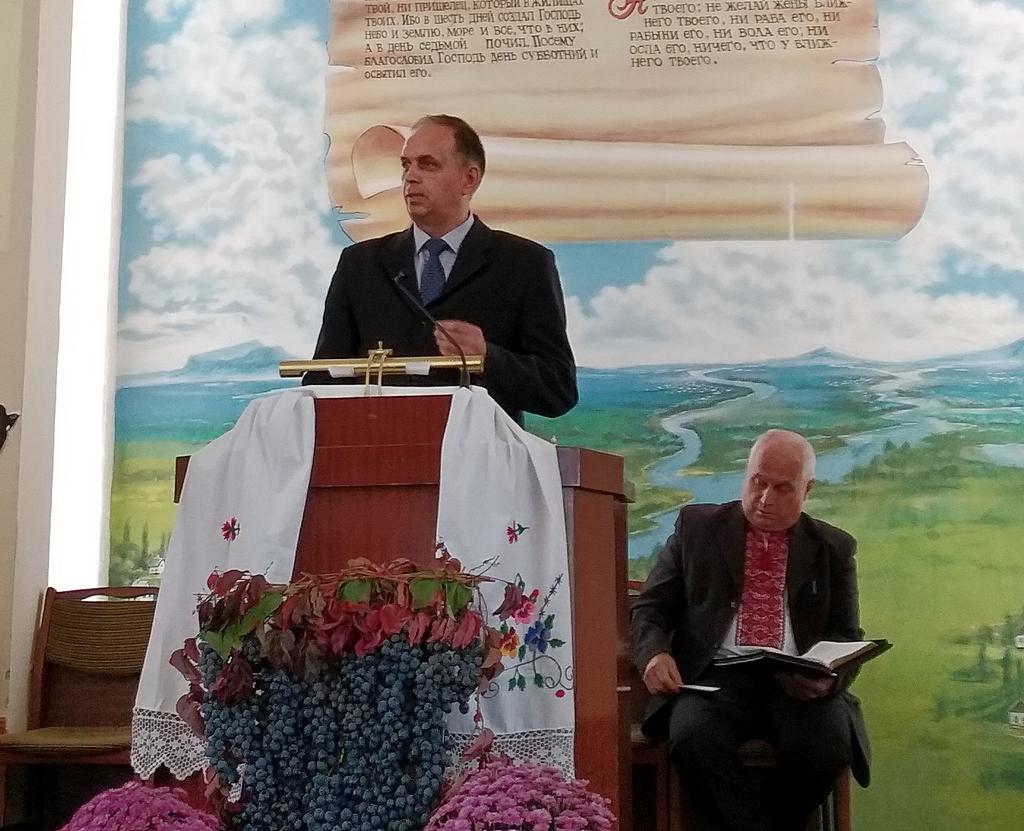 Пресвитеры Андрей Лебедь и Михаил Ивашкив