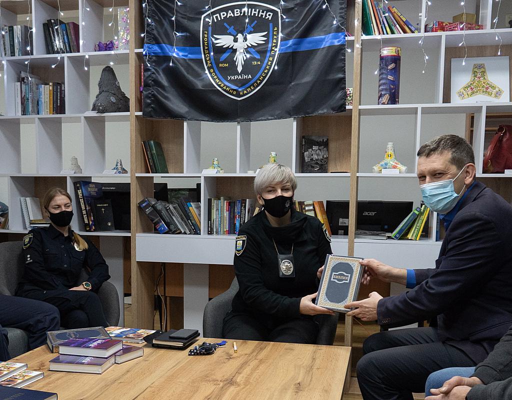 Співробітники Українського Біблійного Товариства відвідали Маріуполь та Волноваху