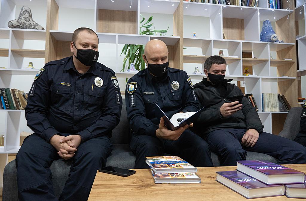 Зустріч з офіцерами Управління патрульної поліції в Донецькій області (УПП)
