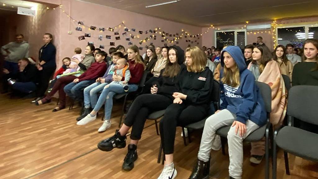 Молодежная встреча «Сэконд хэнд» лагеря FLY прошла в Новомосковске с 3 по 7 января