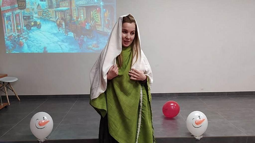 Дети из Энергодара совершили путешествие по Библии в День Рождения Иисуса