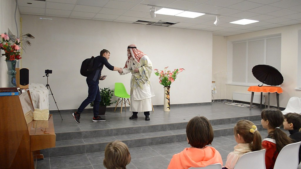 В городе Энергодар начал свою работу детский клуб «Энерджики»