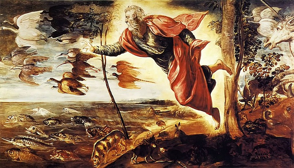 Описание происхождения земли в книге Бытие
