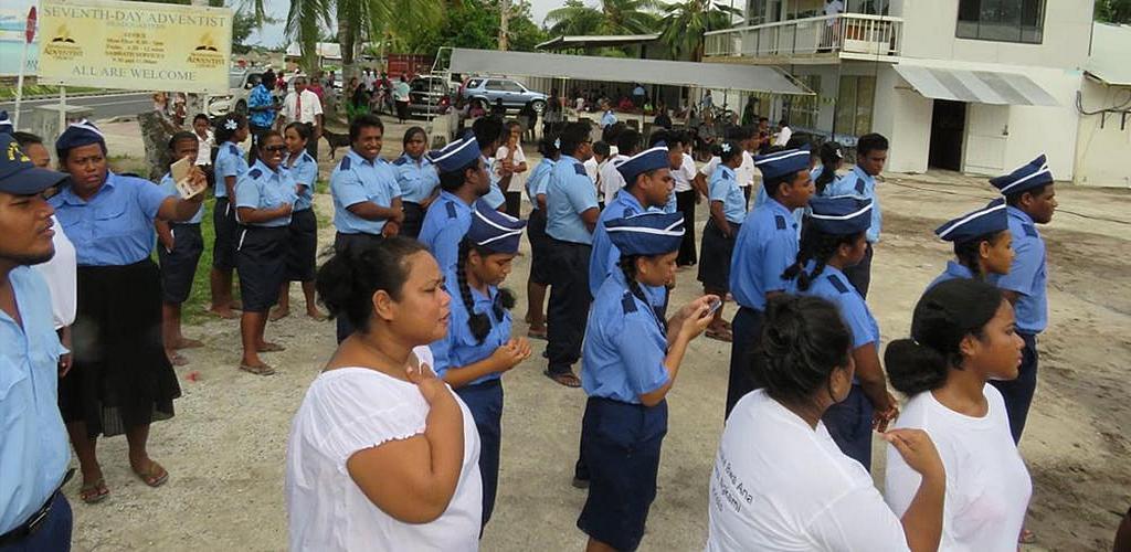 Радио Надежда в Кирибати отметило свою вторую годовщину в декабре 2020 года. [Фото: любезно предоставлено аккаунтом Hope Radio в Facebook]