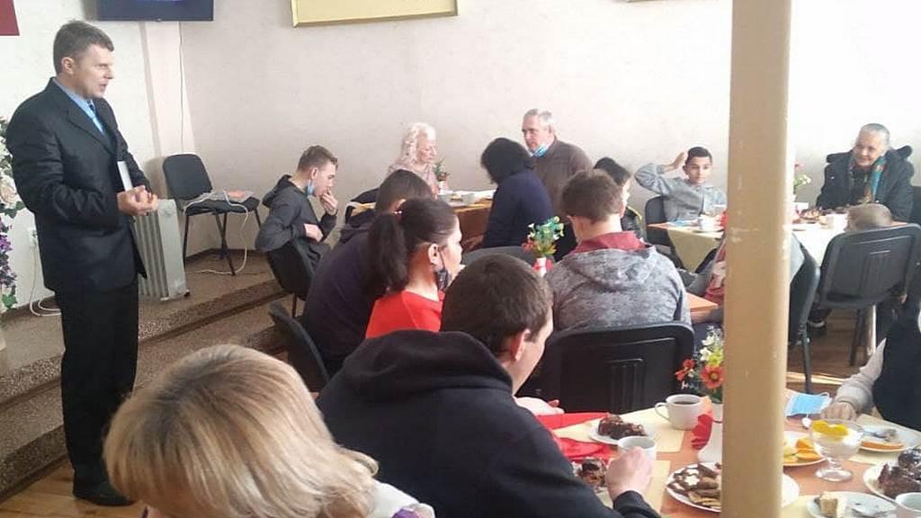Адвентисти Кам'янського провели зустріч сімейного клубу