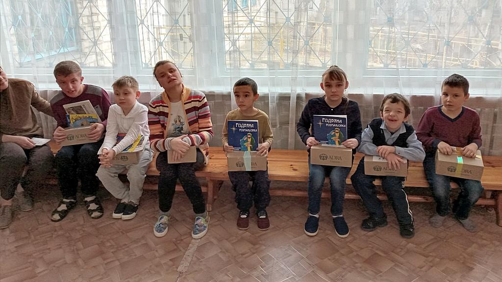 Северодонецкие дети получили подарок от Иисуса