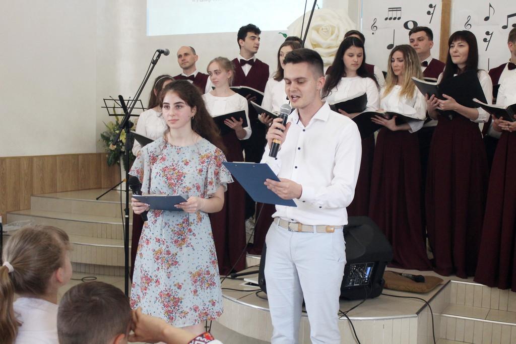 В Днепровском духовном центре состоялся музыкальный фестиваль творчества