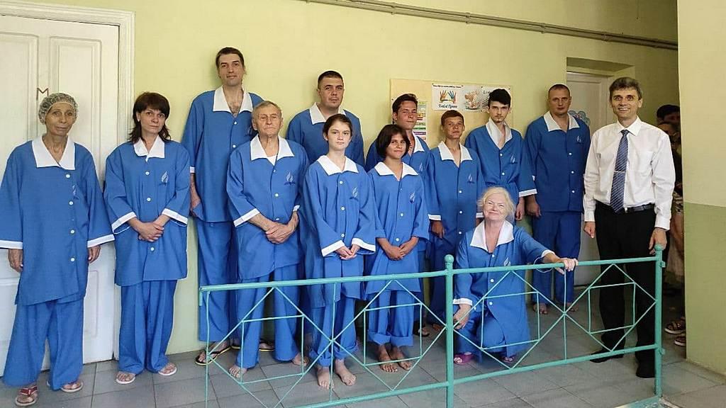 3 июля - крещение в городе Никополь