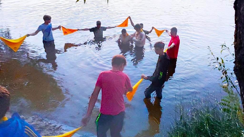 Як слідопити на Оріль за хрещенням їздили