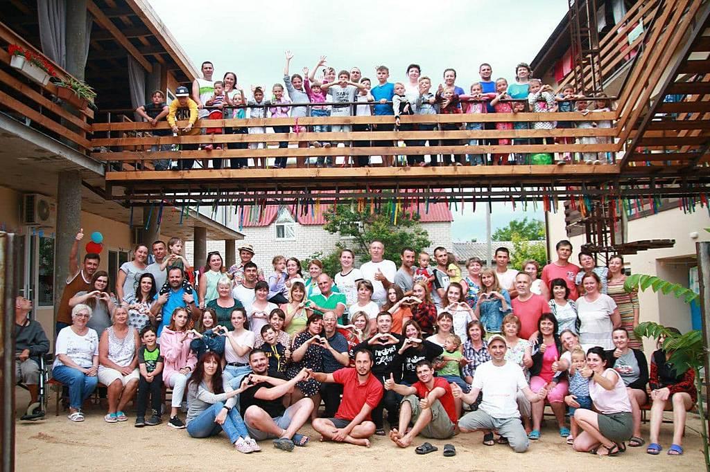 На семейном лагере Восточно-Днепровской конференции смогли отдохнуть 140 человек