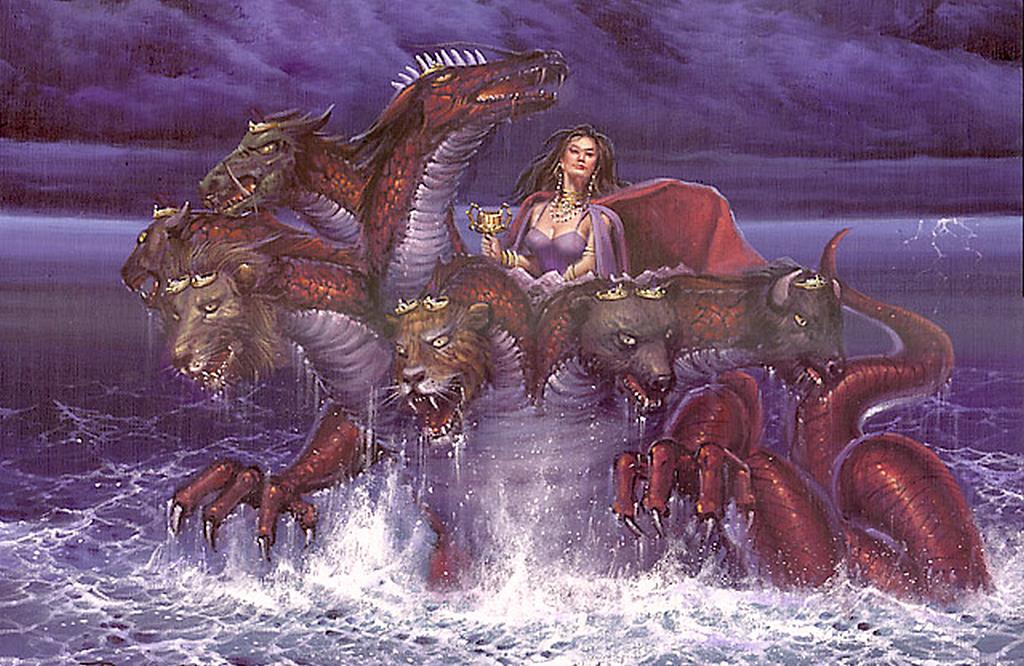 Зверь из 17-й главы книги Откровение: вариант истолкования