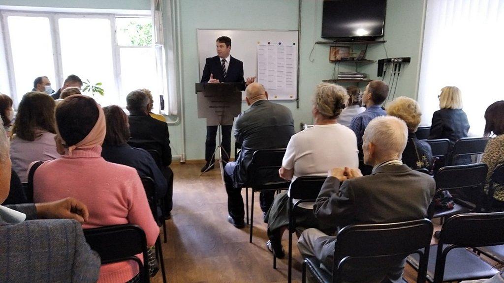 Юрий Сайко представлен на служение в двух общинах Харьковской области