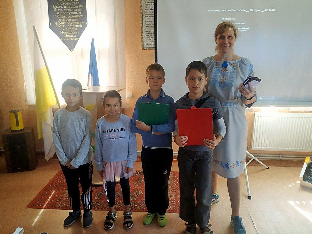 В Жёлтоводскую общину на праздник урожая пришли новые посетители