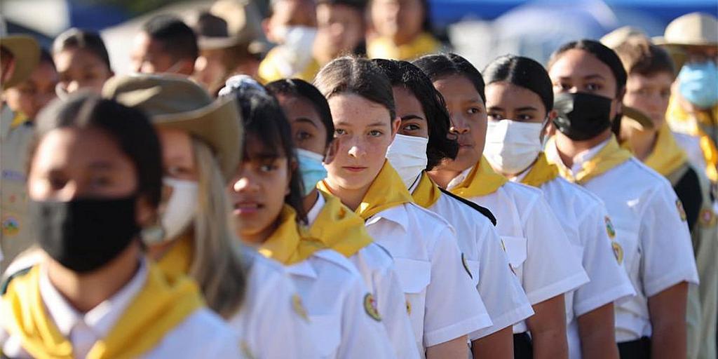 Всемирный день Следопыта празднуют в южной части Тихого океана