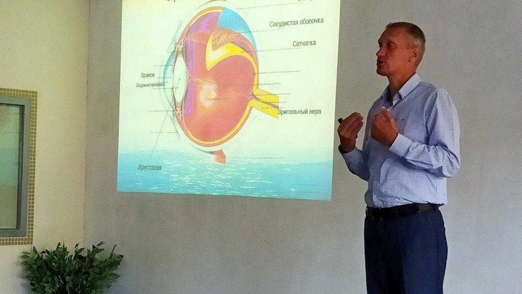 Авторський курс Сергія Гаврюка з відновлення зору відбувся для мешканців Енергодару