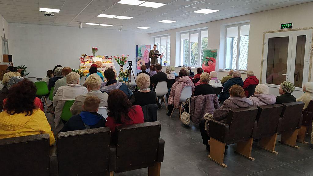 Адвентистська громада Енергодара організувала свято жнив для ветеранів праці